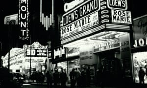 The Loew's Grand pictured in 1954.