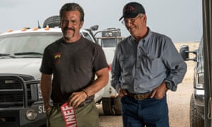 'Much of the movie is as blunt as the title suggests' ... Josh Brolin and Jeff Bridges in Only the Brave.