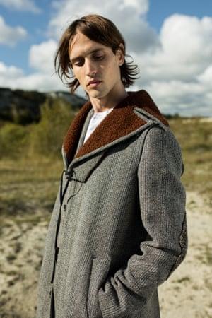 Coat £3800 and shirt £590, both prada.com