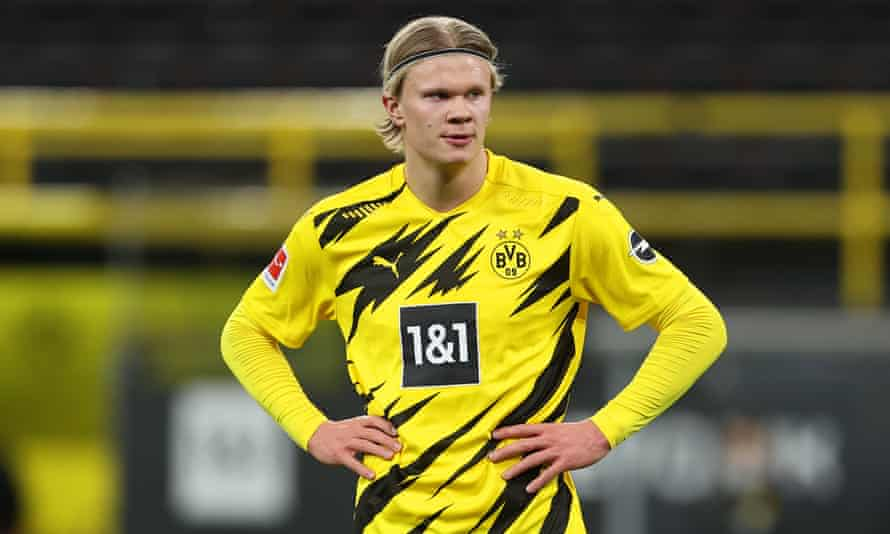 Erling Haaland of Borussia Dortmund is one of the names on Manchester City's radar this summer.