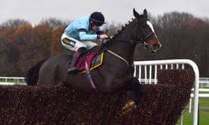 Crievehill and Sam Twiston-Davies on their way to winning at Haydock in November.