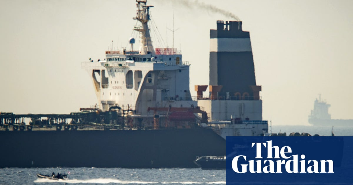 Ex-military chief urges Iran to seize UK ship in Gibraltar tit-for