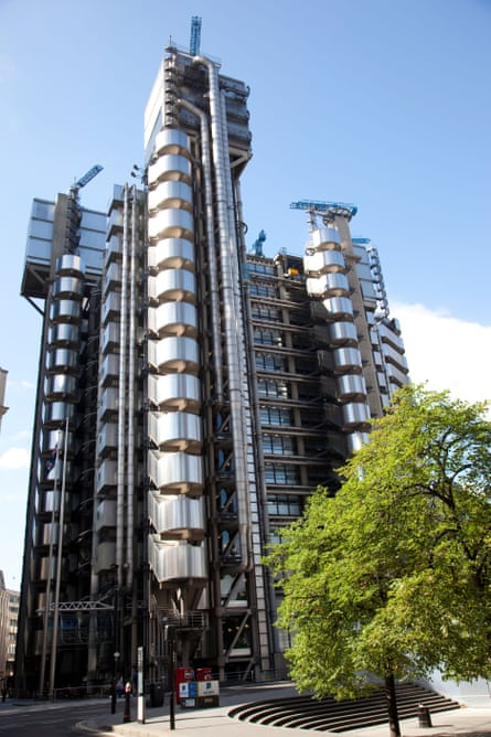 The Lloyd's building in London