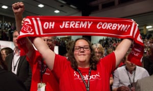 Proud owner of a Jeremy Corbyn scarf