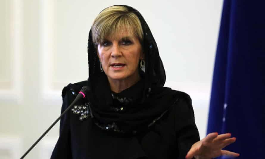 Julie Bishop in Iran