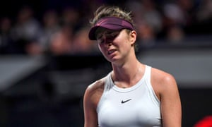 Elina Svitolina had few answers to the questions asked by Ashleigh Barty during the WTA Finals.