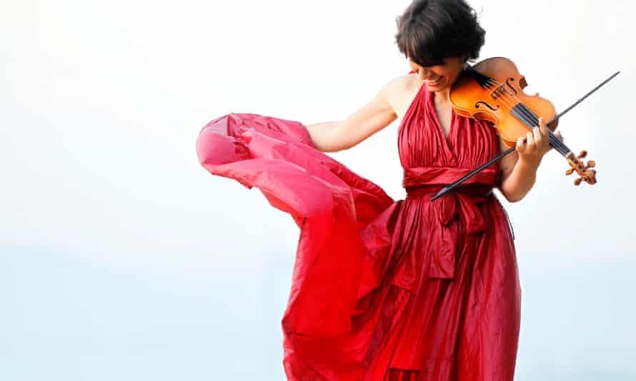 Violinist Amandine Beyer.