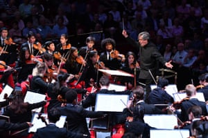 Antonio Pappano conducts the National Youth Orchestra of the USA at the 2019 Proms.