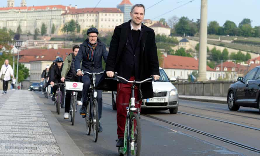 Liberal Prague mayor Zdeněk Hřib