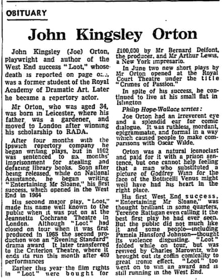 The Guardian, 10 August 1967