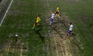 Manchester United will have to contend with tricky conditions at Prenton Park, just as Watford did in midweek.