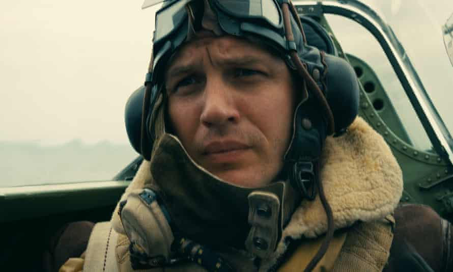 Tom Hardy in Dunkirk.
