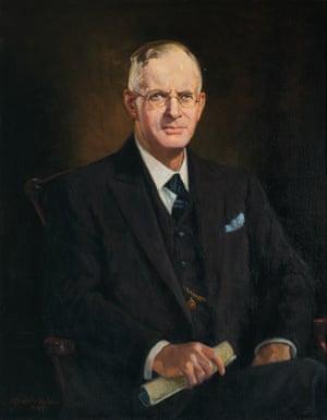 The Rt Hon. John J. A. Curtin, 1947. Anthony Dattilo Rubbo (1870–1955)