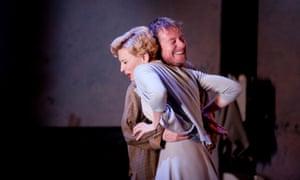 Cate Blanchett (Yelena) and Richard Roxburgh (Vanya) in Sydney Theatre Company's Uncle Vanya.