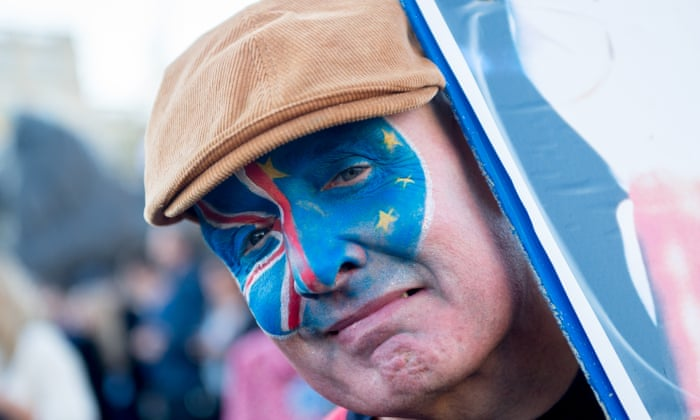 Image result for Almost 700,000 march to demand 'people's vote' on Brexit deal.