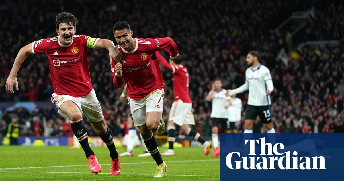 Ronaldo completes Manchester United's rousing comeback win against Atalanta