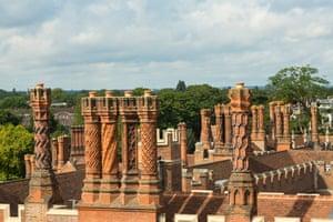 Hampton Court Palace roof