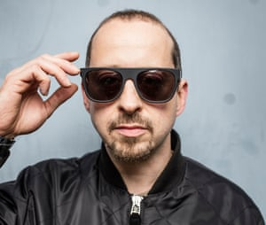 Kode9, electronic music artist, DJ, and owner of the Hyperdub record label.