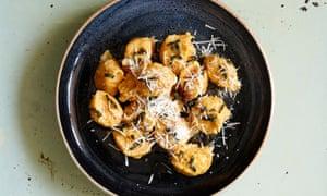 Anna Del Conte's pumpkin gnocchi