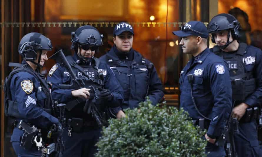Police at Trump Tower