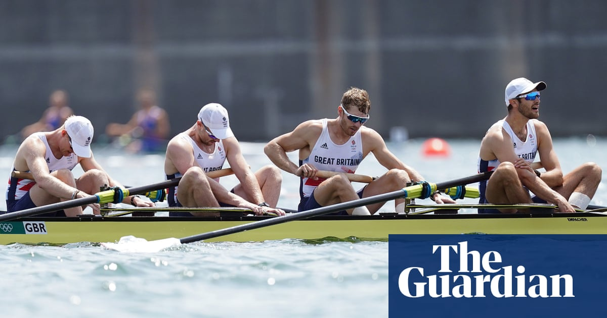 GB rowers swerve off course as era of Olympic dominance starts to sink