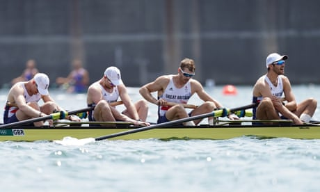 GB rowers swerve off course as era of Olympic dominance starts to sink | Barney Ronay