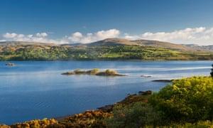 The north-western shore of Lough Corrib, near Doon Rocks, Connemara