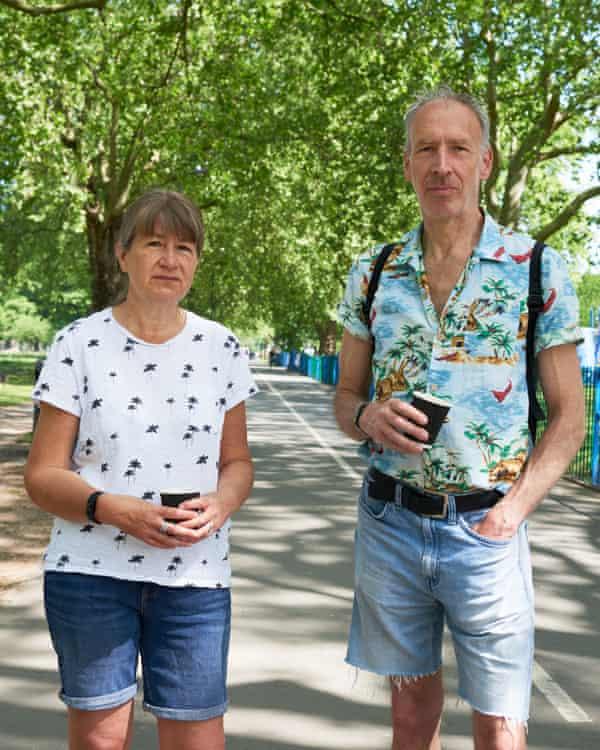 Elaine Hanna and Alex in London Fields