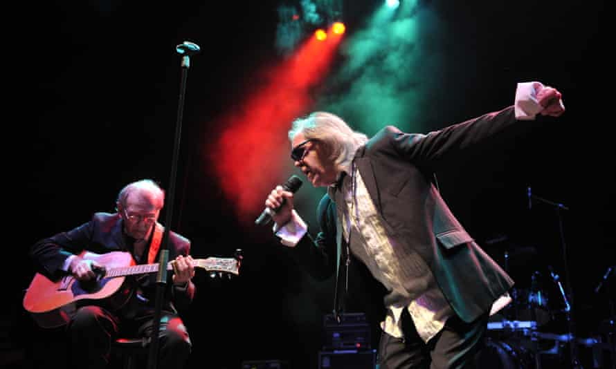 Phil May, right, and Dick Taylor performing in 2009.