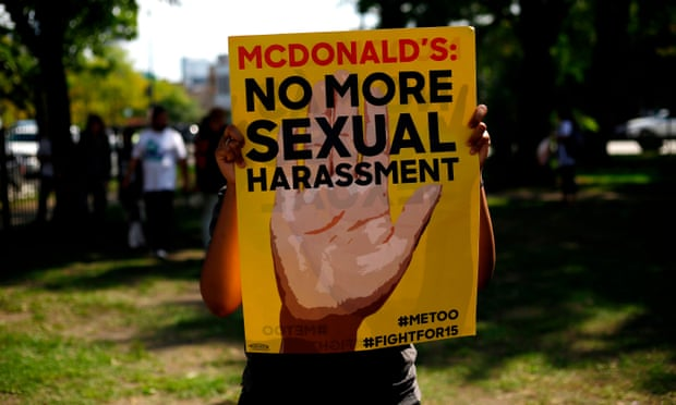 theguardian.com - I'm not on the menu': McDonald's workers strike over 'rampant' sexual harassment