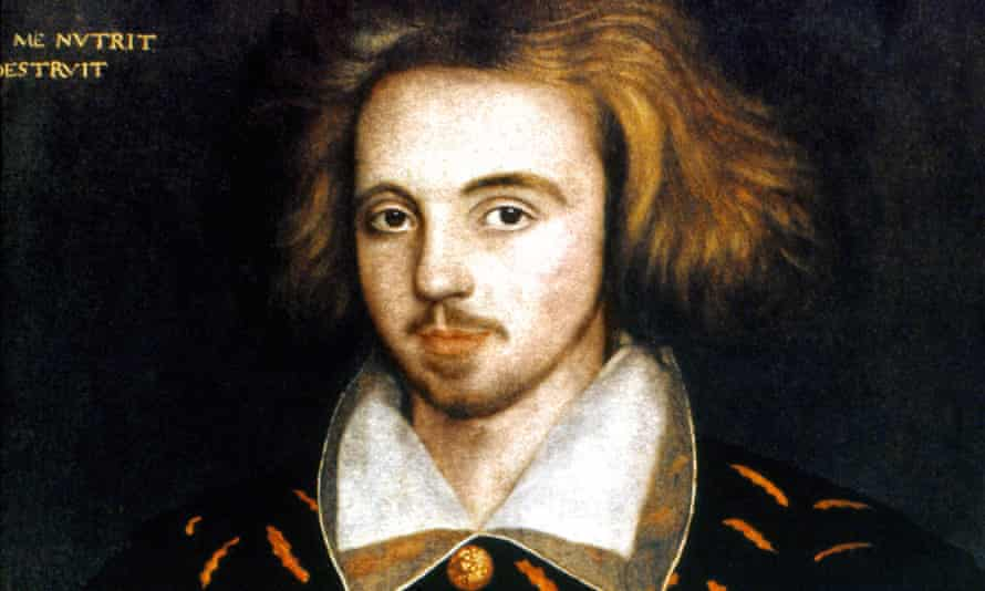 The real Shakespeare? … portrait of Christopher Marlowe, 1585.
