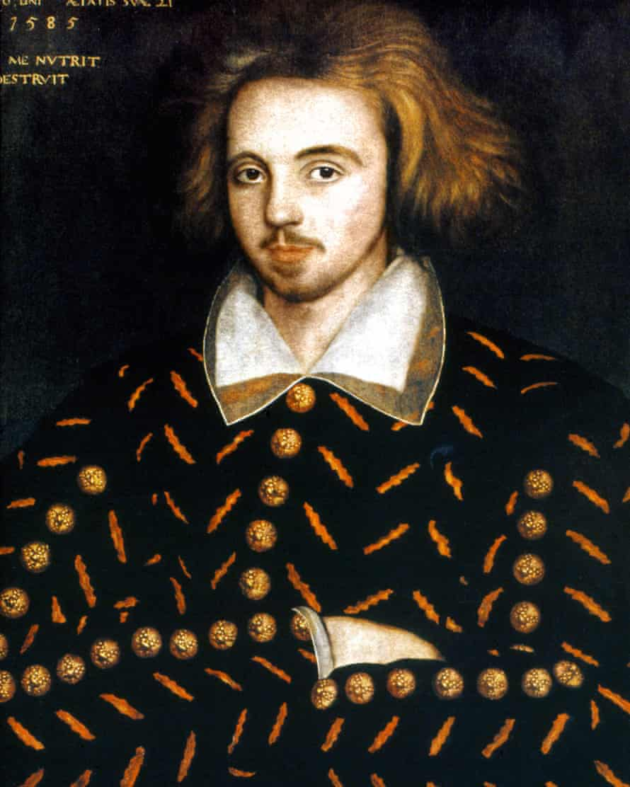 Accused of atheism … Shakespeare's rival Christopher Marlowe.