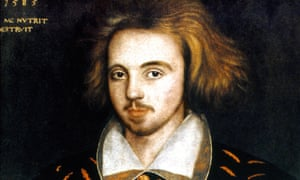 A presumed portrait of Christopher Marlowe (1585), by an unknown artist