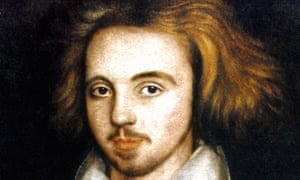 'Monstrous opinions' … Christopher Marlowe.