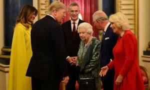 Trumps with royals