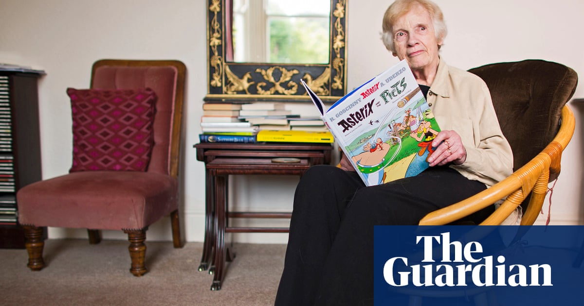 Anthea Bell, 'magnificent' translator of Asterix and Kafka, dies