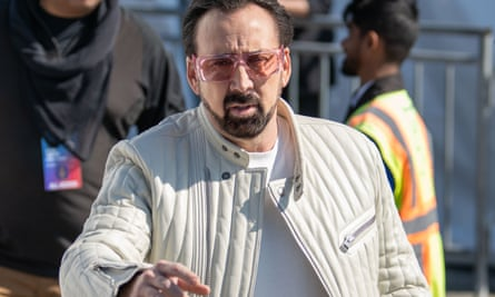 A big fan of comic-books … Nicolas Cage.