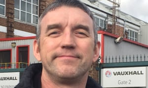 Robert O'Driscoll, 47, works in the bodyshop of the Luton Vauxhall plant: 'I've been here since I was 19 – I know nothing else.'