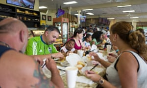 The Melao Bakery in Kissimmee, Florida, is the unofficial hub of central Florida's fast-growing Puerto Rican community.