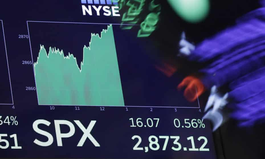 the S&P 500 index screen
