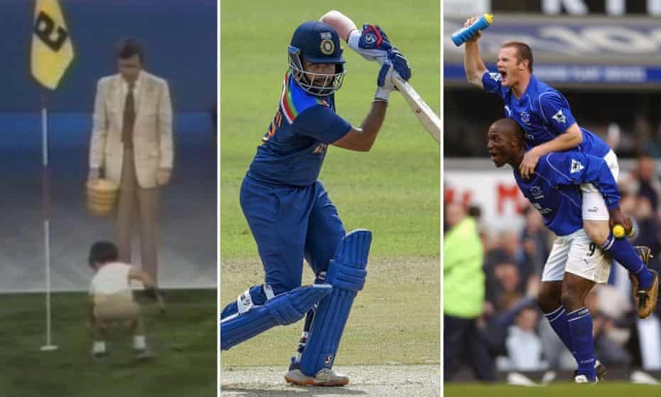 Tiger Woods, Prithvi Shaw and Wayne Rooney.