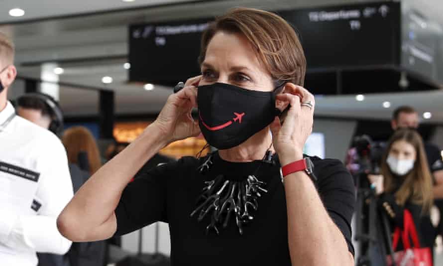 Virgin Australia CEO Jayne Hrdlicka says Australia should reopen its borders to the world sooner than mid-next year.