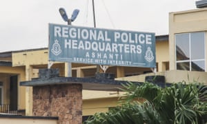 The regional police headquarters in Kumasi on 7 June. The Canadian women were taken in Kumasi.