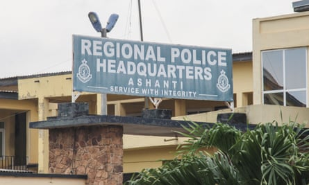 The regional police headquarters in Kumasi on 7 June. The Canadian women were taken in Kumasi.
