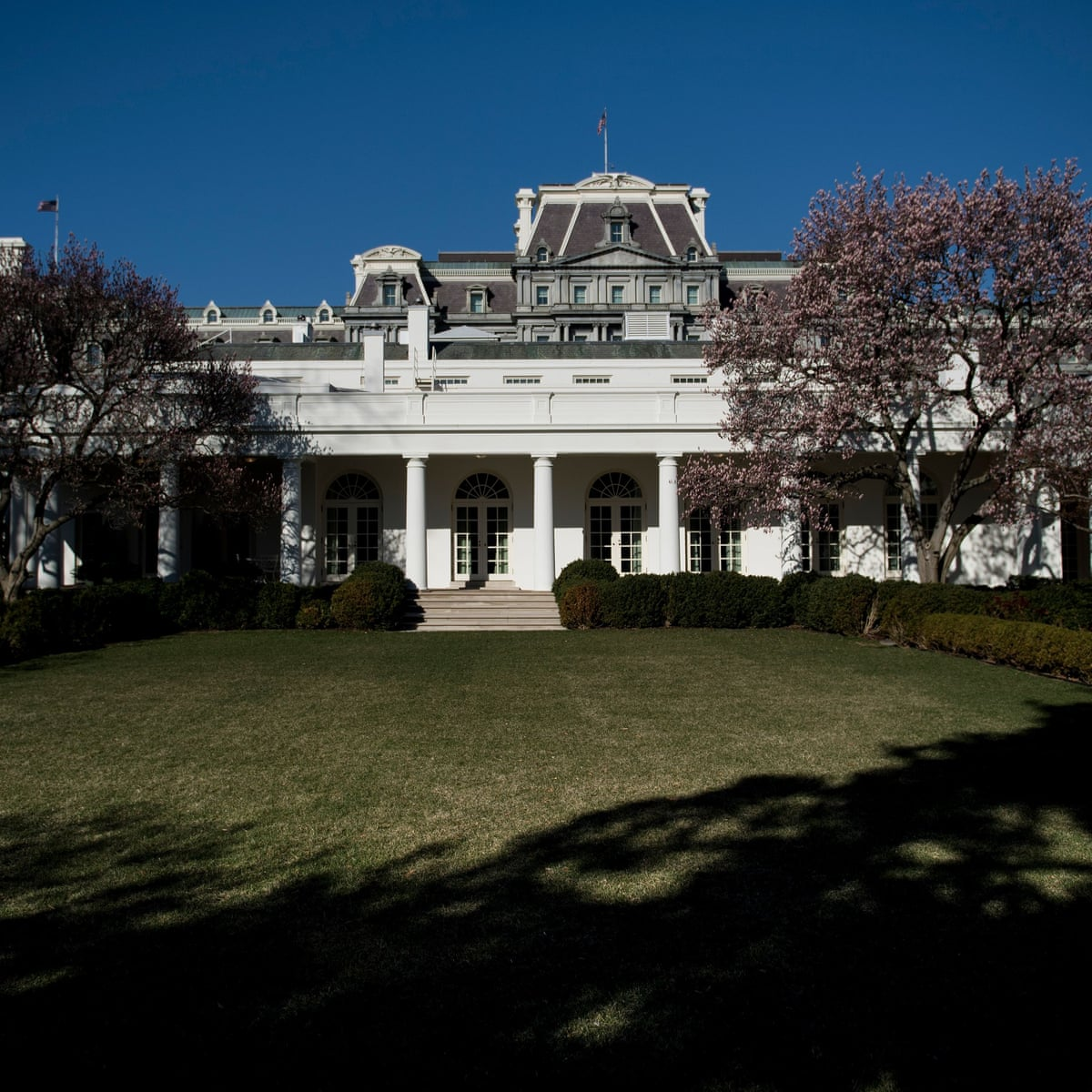 Does Melania Trump S Revamp Of The White House Rose Garden Have A Hidden Agenda Arwa Mahdawi Opinion The Guardian