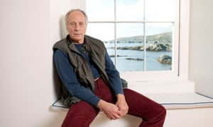 Richard Ford, writer, photographed at his holiday home in Clifden, Ireland