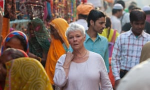 Unexpected hit … Judi Dench in The Best Exotic Marigold Hotel.