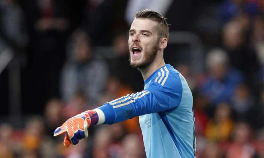 David de Gea has taken over from Iker Casillas as Spain's No1 goalkeeper.