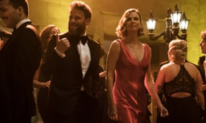 Seth Rogen and Charlize Theron Long Shot.