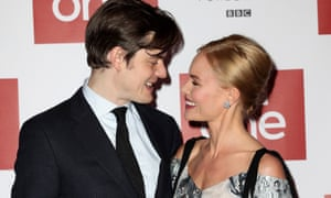 Sam Riley and Kate Bosworth at the world premiere of SS-GB on 30 January